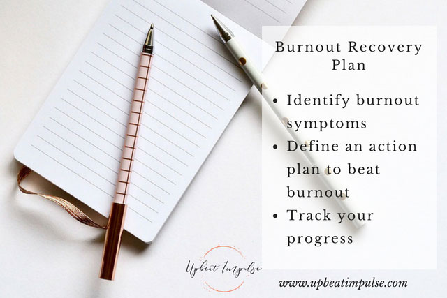burnout recovery steps