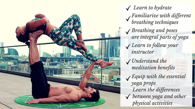 First Yoga Class Tips