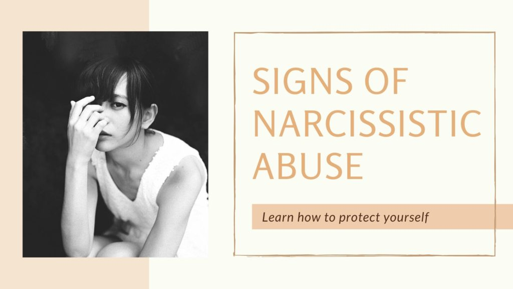 Signs of narcissistic abuse syndrome